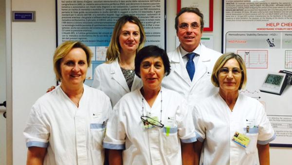 il team del servizio di Prevenzione Cardiovascolare